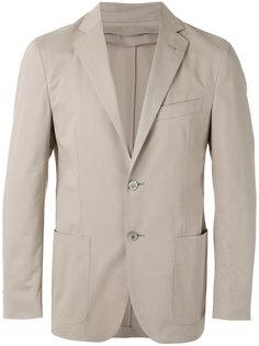 пиджак со вставкой на молнии Corneliani