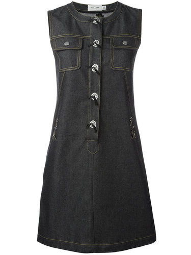 джинсовое платье с пуговичной планкой спереди Coach