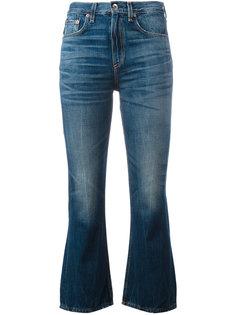 укороченные джинсы клеш Rag & Bone
