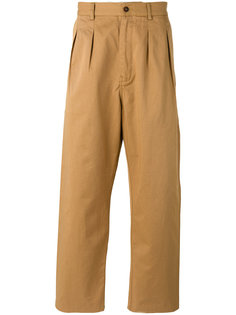 широкие брюки Universal Works