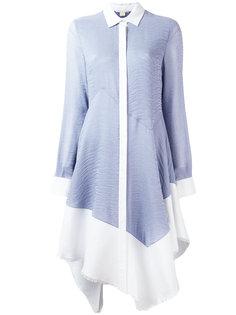расклешенное платье-рубашка Antonio Berardi