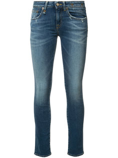 Kate skinny low rise jeans R13