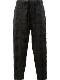 спортивные брюки в полоску Uma Wang