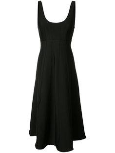 flared sleeveless dress Tibi