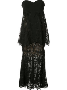 многослойное платье без бретелек Jonathan Simkhai