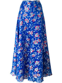 длинная юбка с цветочным принтом Isabel Marant