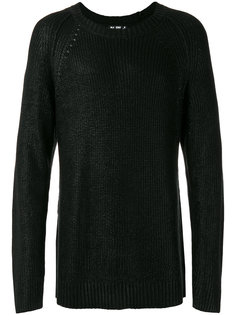 crew neck jumper  Blk Dnm