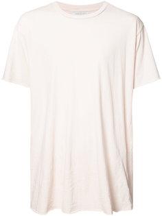 raw edge t-shirt John Elliott