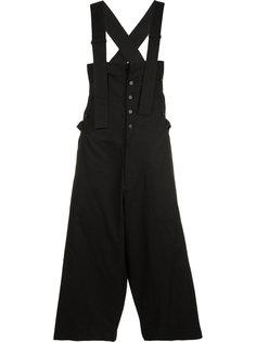suspender trousers Yohji Yamamoto