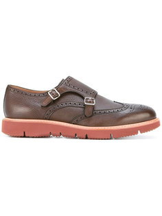 contrast sole monk shoes Henderson Baracco