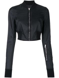 укороченная куртка-бомбер Rick Owens DRKSHDW