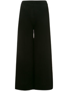 wide leg cropped trousers D.Exterior