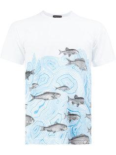 футболка с принтом рыб Comme Des Garçons Homme Plus