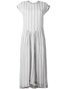 расклешенное платье в полоску Masscob