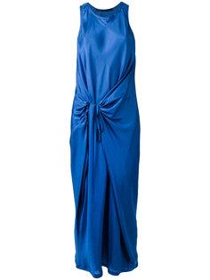 драпированное платье без рукавов Haider Ackermann