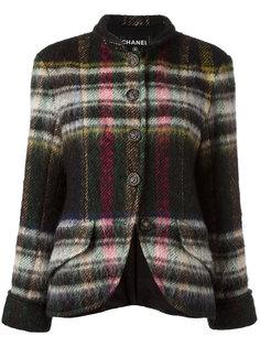 пиджак в клетку Chanel Vintage