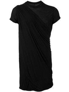 удлиненная футболка Rick Owens DRKSHDW