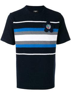 футболка в полоску Fendi
