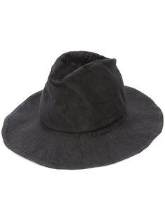 шляпа с мятым эффектом Reinhard Plank