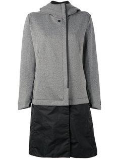 флисовое пальто с капюшоном Nike