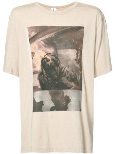 футболка с фото-принтом Helmut Lang