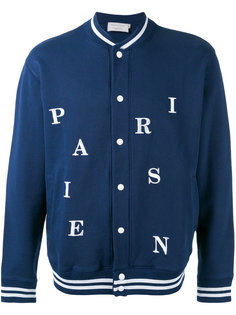 куртка-бомбер Parisien Maison Kitsuné
