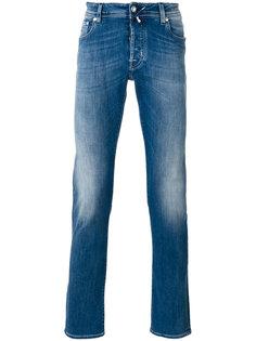 выбеленные прямые джинсы Jacob Cohen