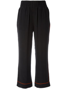 cropped trousers  Ganni