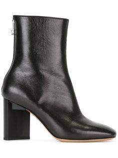 сапоги по щиколотку с асимметричными каблуками Maison Margiela