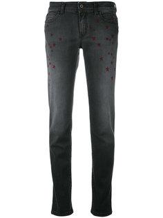 джинсы со звездным принтом Just Cavalli