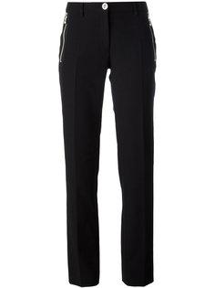 прямые брюки с молниями Versus