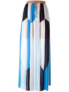 юбка макси в стиле пэчворк Twin-Set