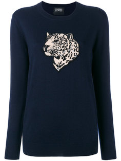 sequin tiger sweater Markus Lupfer