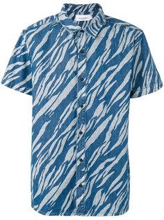 рубашка с короткими рукавами и рисунком Les Benjamins