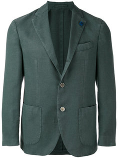 пиджак на две пуговицы  Lardini