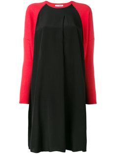 contrast dress  Lutz Huelle