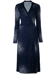 платье с узором в горох Diane Von Furstenberg