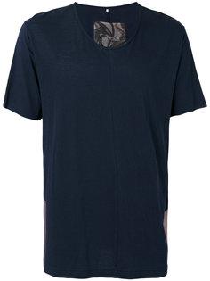 colour block T-shirt Ziggy Chen