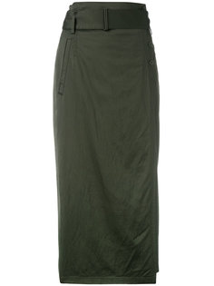 юбка-карандаш с поясом DKNY