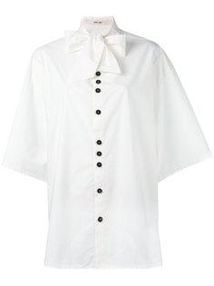 рубашка с завязками на шее Damir Doma