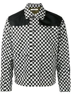 куртка-бомбер  в клетку Givenchy