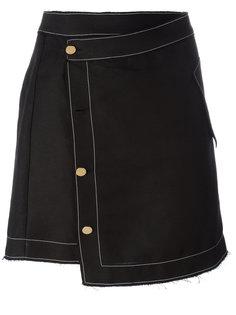асимметричная юбка Loewe