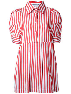 candy stripe shirt dress Mikio Sakabe