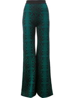 расклешенные брюки  Balmain