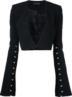 укороченный пиджак David Koma