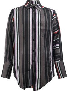 рубашка в полоску Yang Li