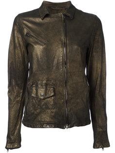 куртка со смещенной застежкой-молнией Salvatore Santoro
