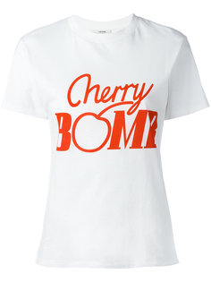 Cherry Bomb T-shirt  Ganni