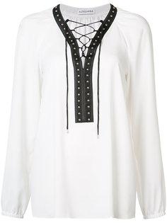 lace-up blouse Altuzarra