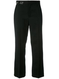 костюмные брюки с отделкой заклепками Marc Jacobs